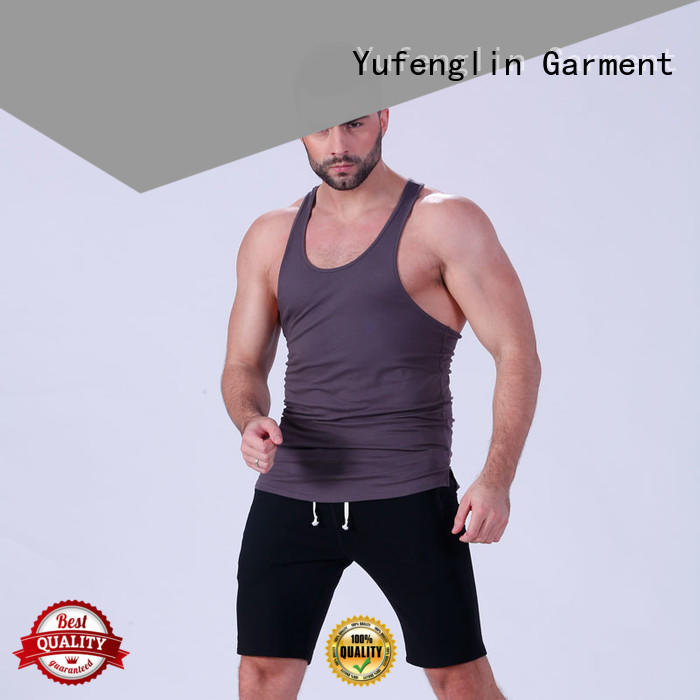Yufengling gym bodybuilding tank tops sports-wear for trainning