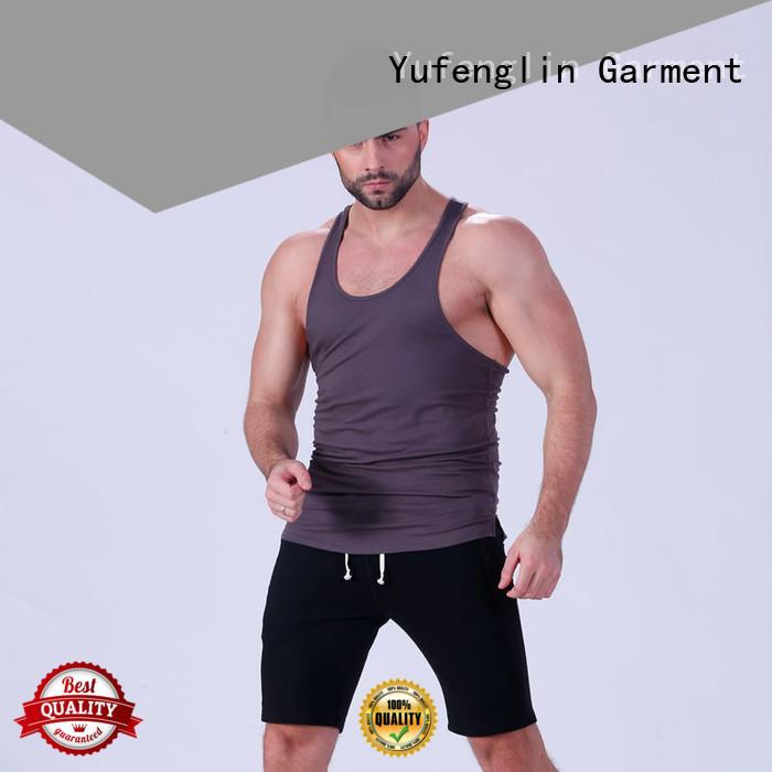 Yufengling gym bodybuilding tank tops sports-wear for trainning