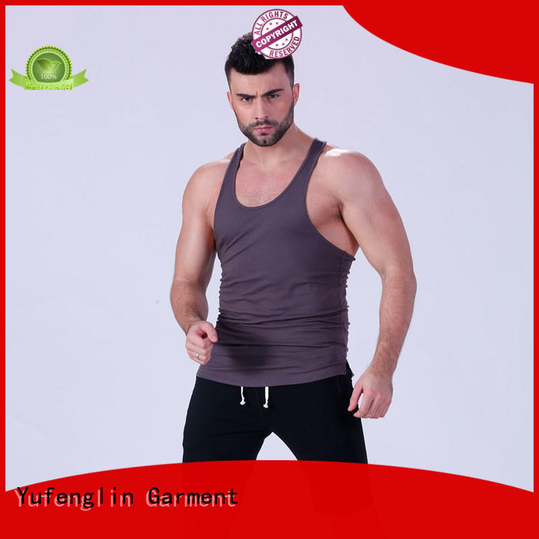 muscle muscle tank tops fitting-style for trainning Yufengling