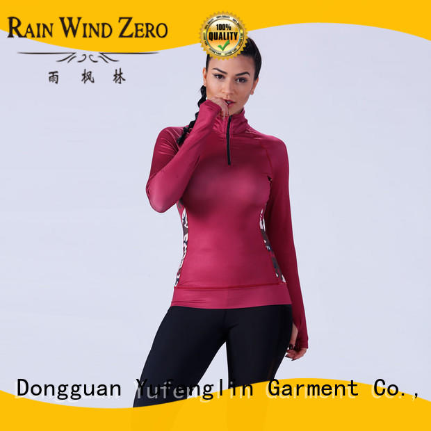 Yufengling sport gym t shirts for ladies wholesale for training house