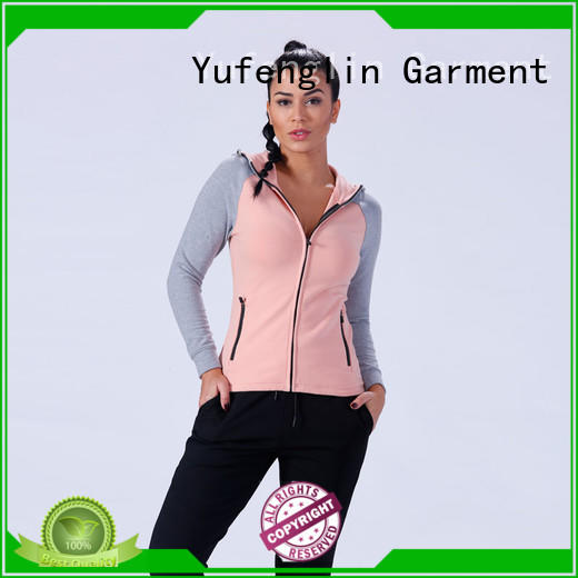Yufengling top long hoodie womens wholesale for training house