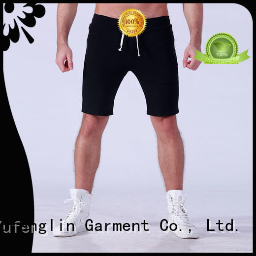 Yufengling durable gym shorts men for-mens for training house