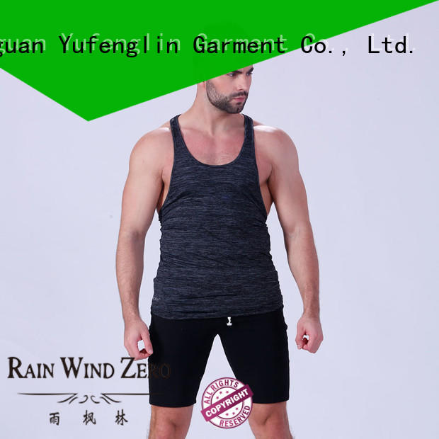 Yufengling tank male tank tops sporting-style for trainning