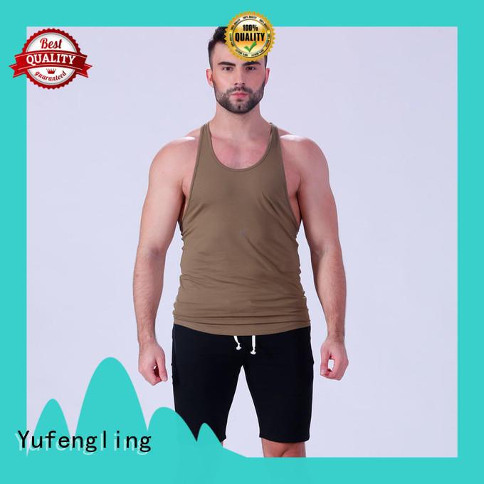 fit custom tank tops loose yoga room Yufengling