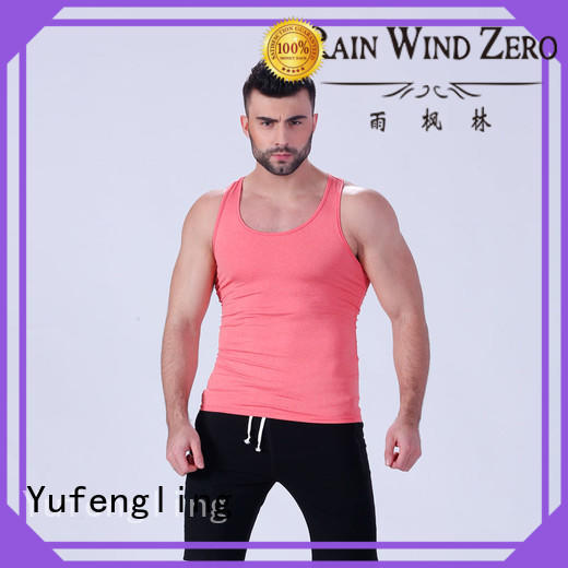 Yufengling lovely male tank tops fitness for trainning