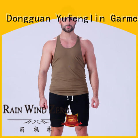 mens gym tank tops mens sporting-style Yufengling