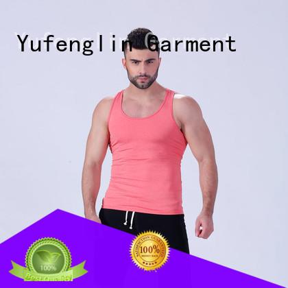 Yufengling men gym tank tops mens tranning-wear gymnasium