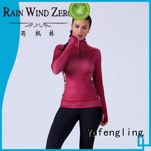 Yufengling fitness-wear best t shirt design yoga wear for training house