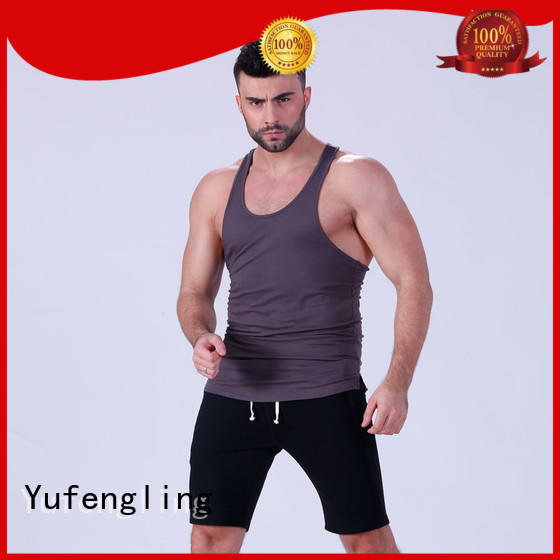 Yufengling exquisite male tank tops wholesale yoga room