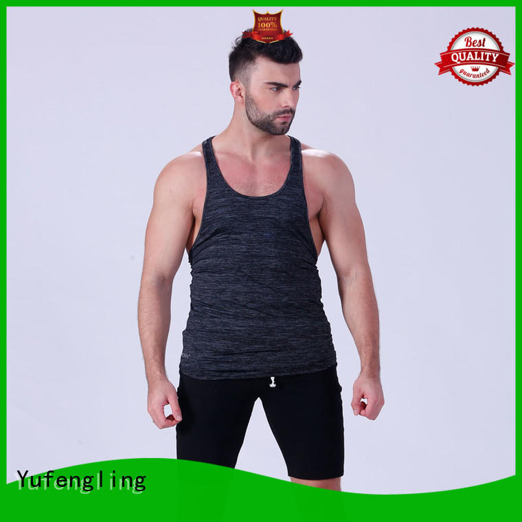 Yufengling stringer mens tank top sports-wear gymnasium
