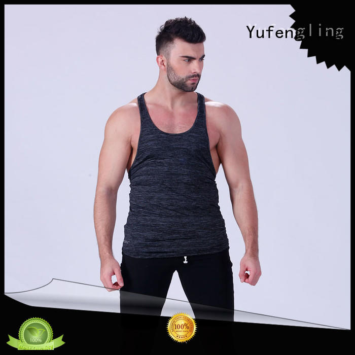 Yufengling muscle male tank tops exercise room