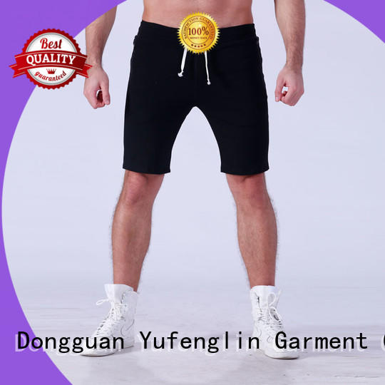 plain sports shorts for men factory fitness centre Yufengling