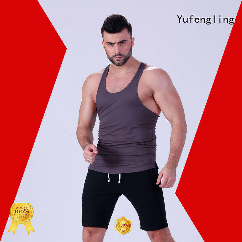 stunning male tank tops gym sports-wear fitness centre