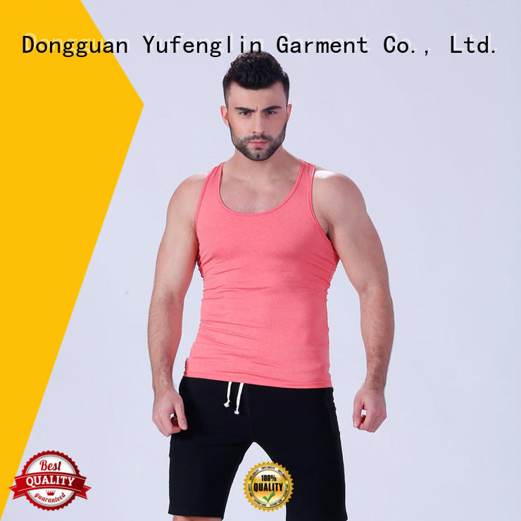 solid men singlet wholesale fitness centre Yufengling