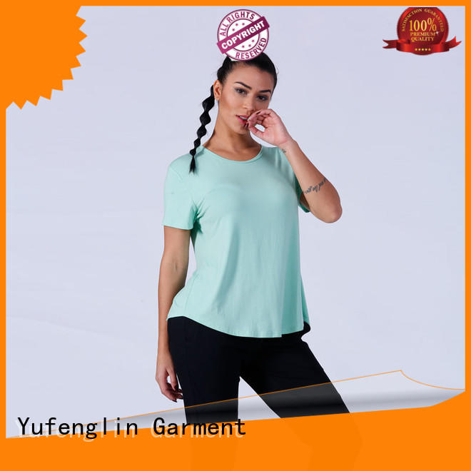 Yufengling customized ladies t shirt casual-style exercise room