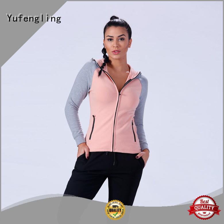 top long hoodie womens ODM service  gymnasium Yufengling