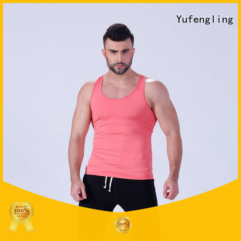Yufengling exquisite cool tank tops mens sleeveless gymnasium