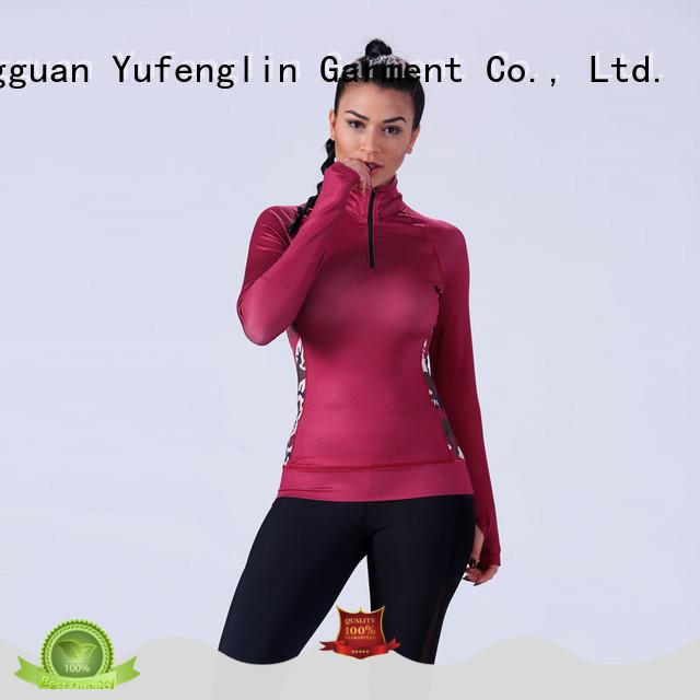 gym female t shirt manufacturer yoga room Yufengling
