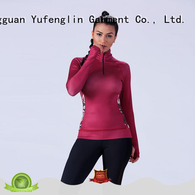 gym female t shirt manufacturer yoga room Yufengling