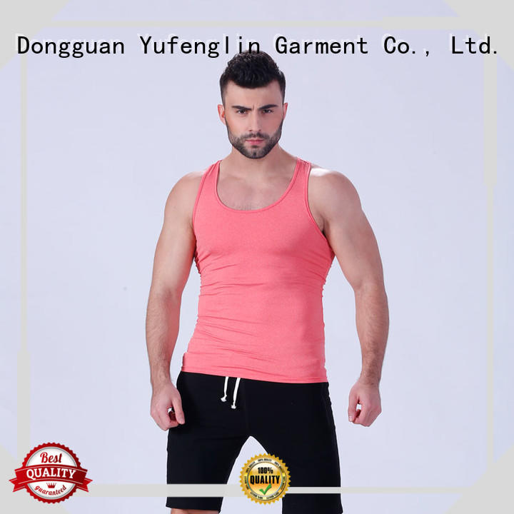Yufengling quality gym tank tops mens tranning-wear for training house