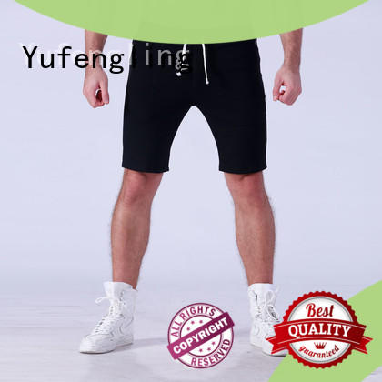 Yufengling shorts sports shorts for men o-neck in gym