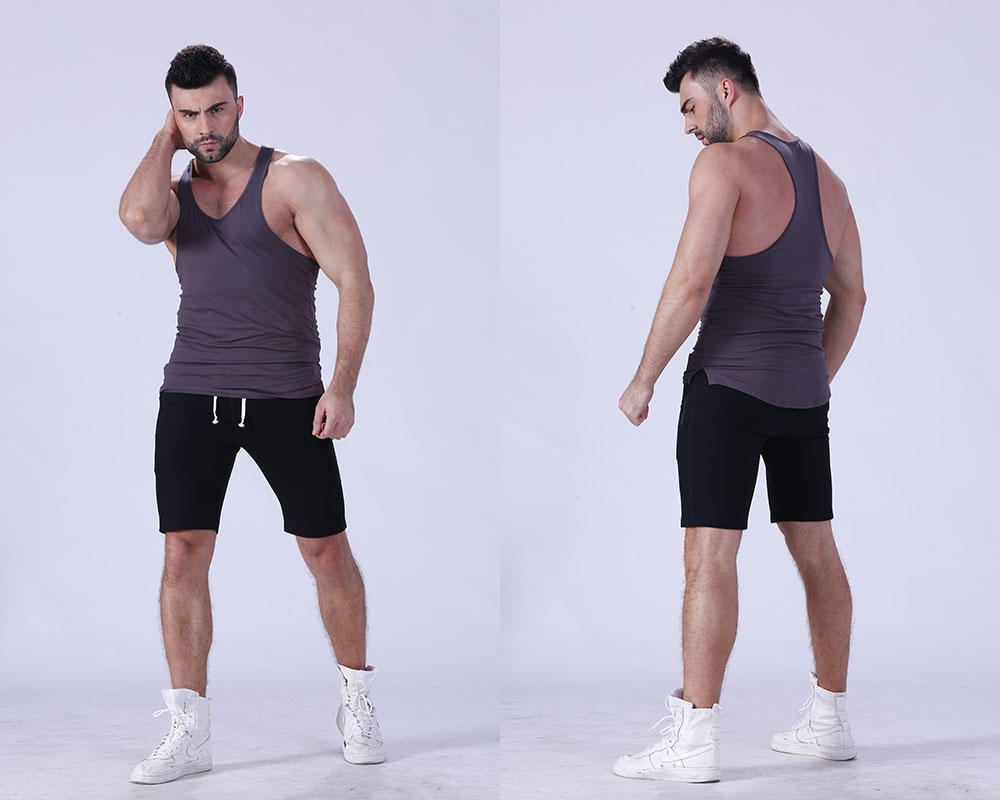 magnificent mens tank top tranning-wear in gym-1