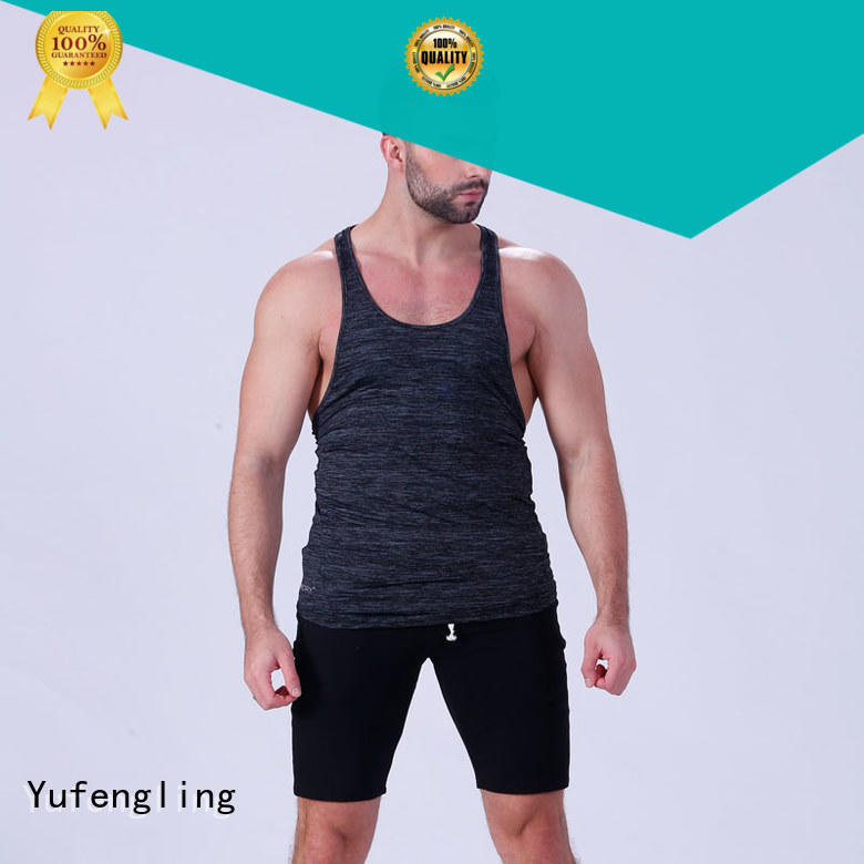 Yufengling exquisite male tank tops sporting-style yoga room