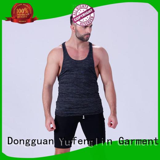 newly men stringer sports-wear in gym Yufengling