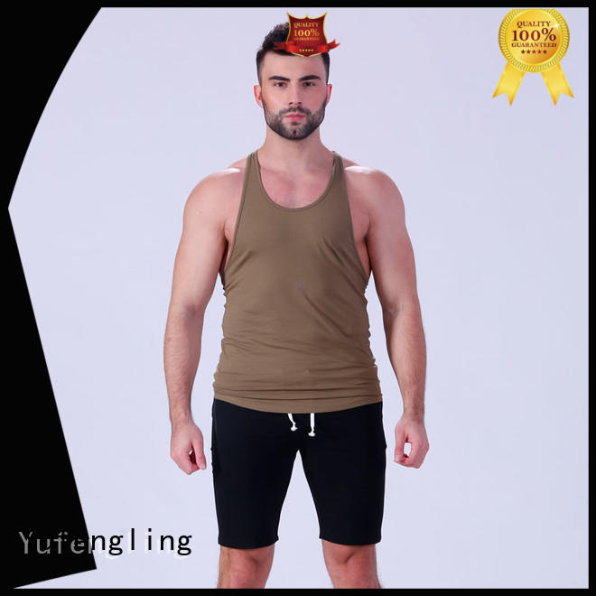 Yufengling top bodybuilding tank tops tranning-wear fitness centre