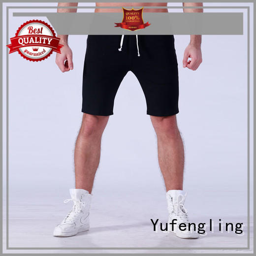 fine- quality mens athletic shorts factory in gym