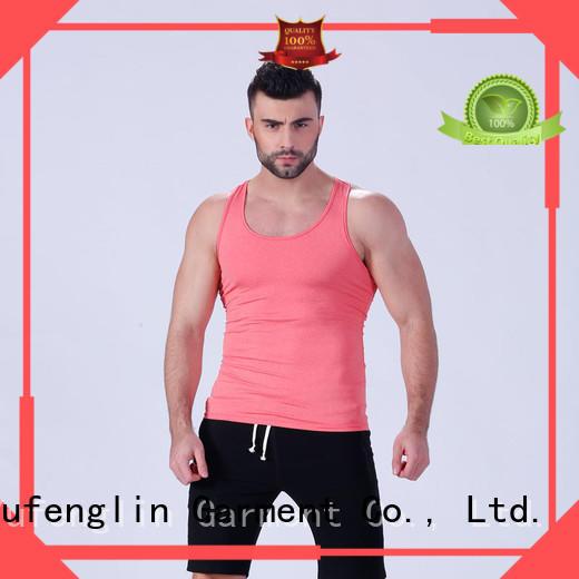 Yufengling sleeveless custom tank tops tranning-wear for trainning