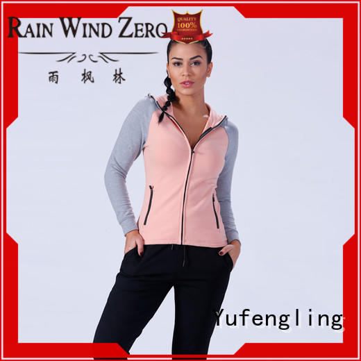 gym long hoodie womens ODM service  for training house Yufengling