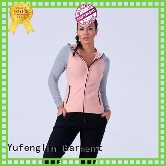 Yufengling slim fit ladies sweatshirts ODM service