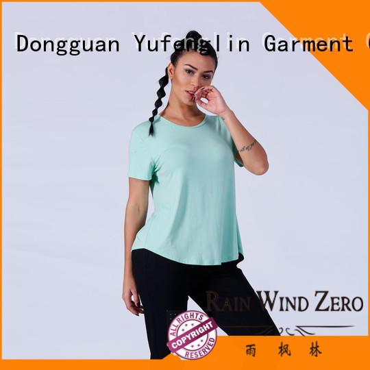 Yufengling shirt female t shirt in different color yoga room