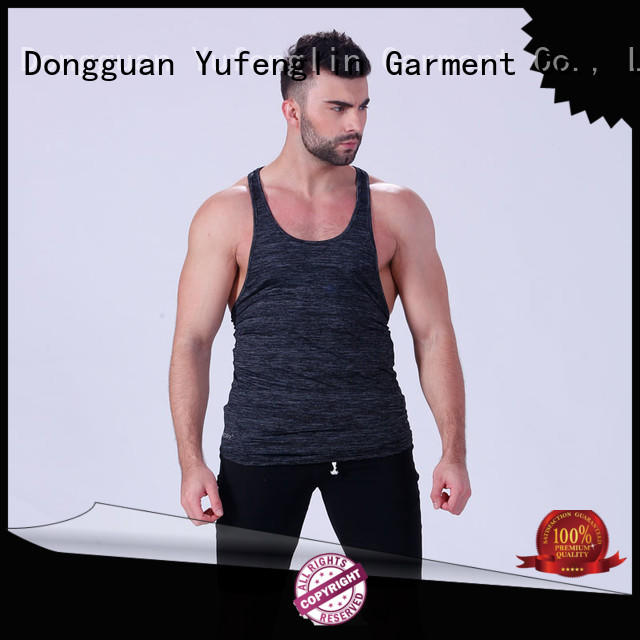 new-arrival male tank tops fitness fitting-style gymnasium