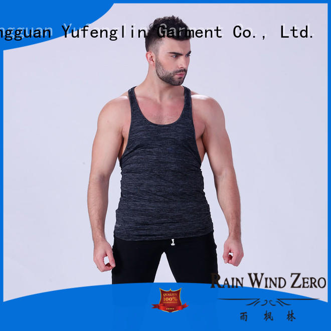 Yufengling lovely cool tank tops mens wholesale exercise room
