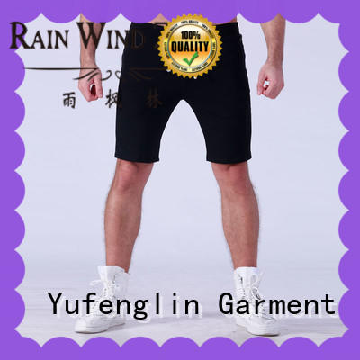gym cotton OEM gym shorts men Yufengling