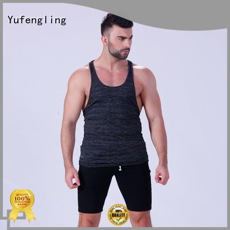 Yufengling newly gym tank top oem yoga room