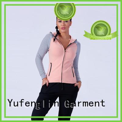 stylish gym hoodies womens long exercise room
