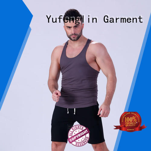bodybuilding tank tops mens gymnasium Yufengling