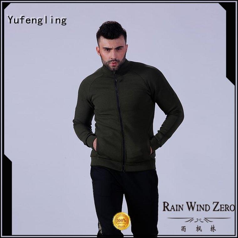 Yufengling fitness-wear mens hoodies and sweatshirts workout for jogging