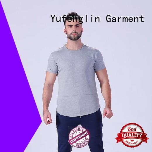 gym plain t shirts for men factory yoga room