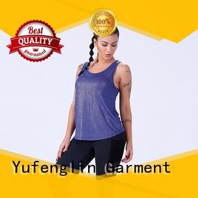 Yufengling women tank top fitness yogawear