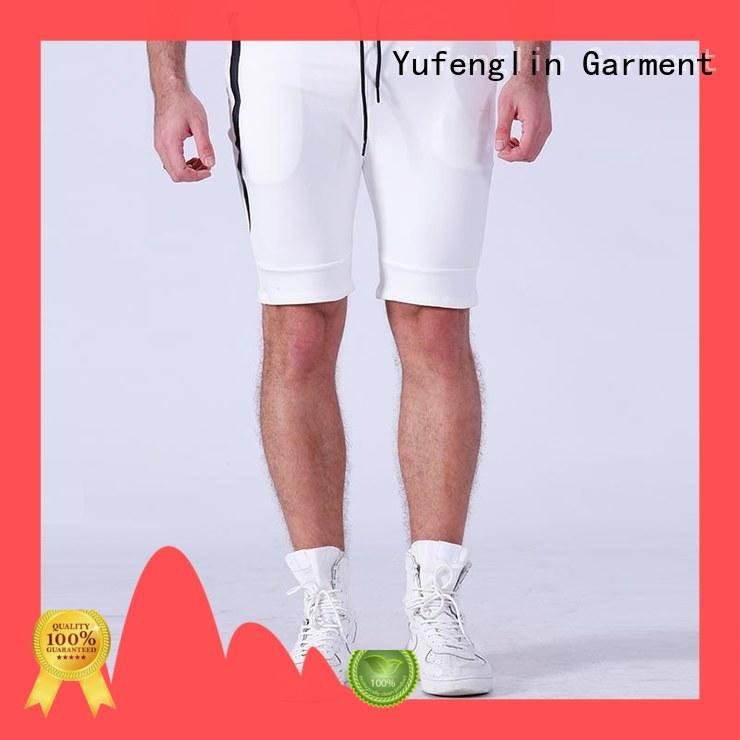 Yufengling awesome gym shorts men running gymnasium