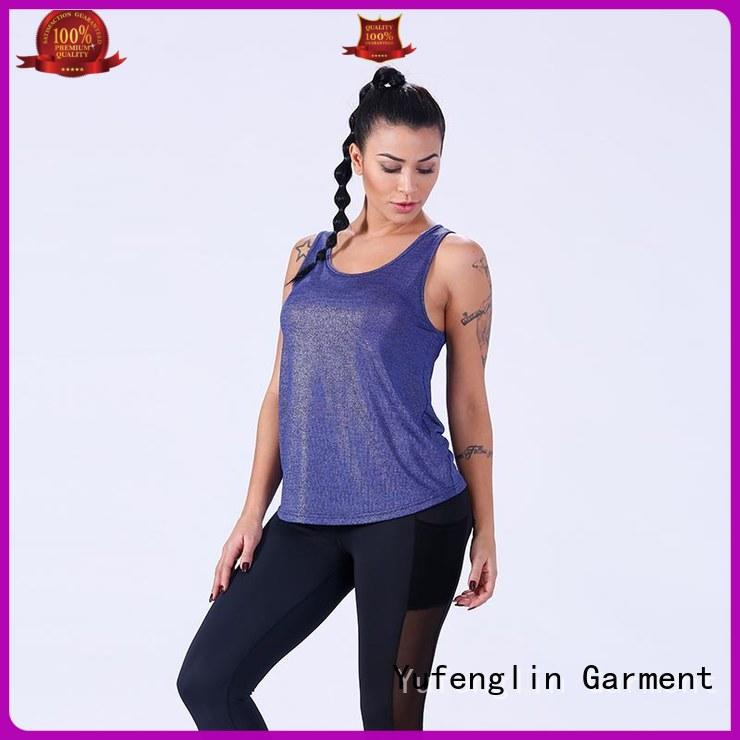 Yufengling quality ladies tank tops fitting-style