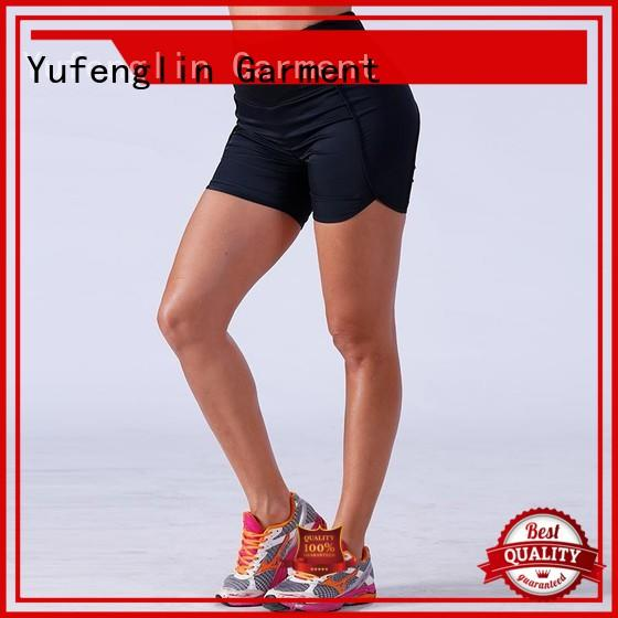 Yufengling bodybuilding womens sports shorts casual-style suitable style