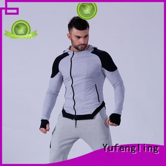 awesome mens hoodie design fabric for sporting