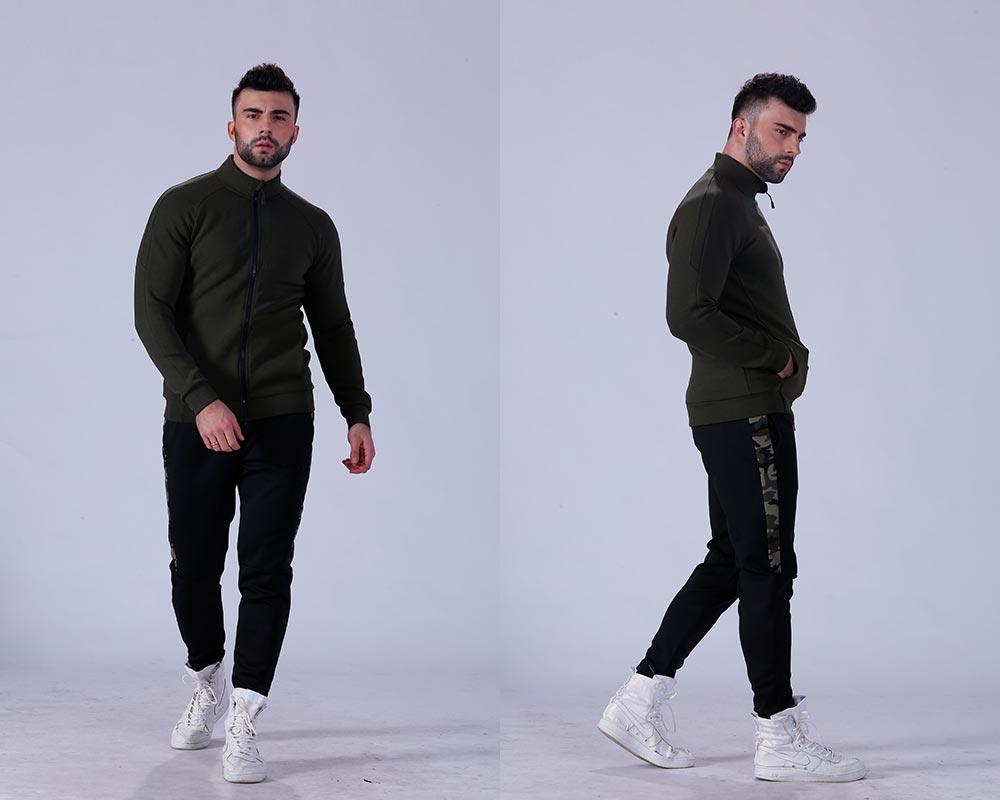 alluring mens hoodie fitness-wear body shape for sporting