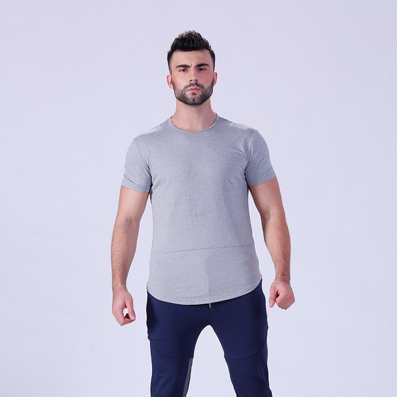 Custom shirts mens blank tee workout fitness clothing gym t shirt  YFLTSM01