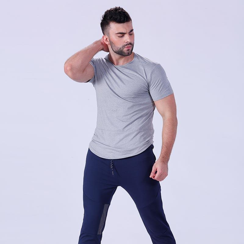awesome plain t shirts for men blank owner in gym